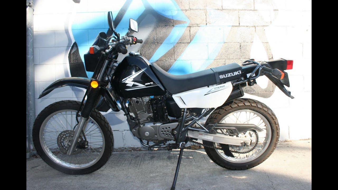 Suzuki Dr  Dual Sport