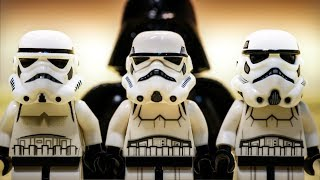 LEGO Star Wars BATTLE OF THE STORMTROOPERS (Stop Motion Animation)
