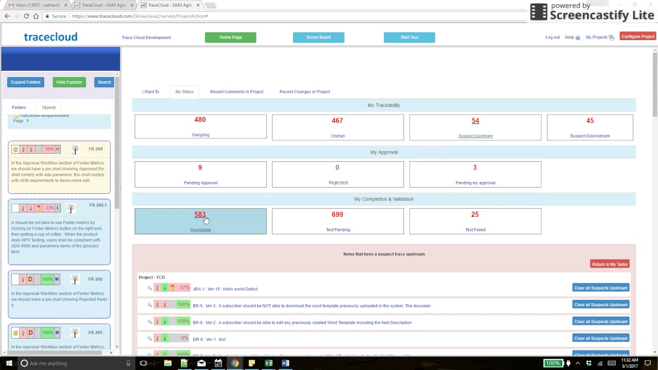 Requirements Management & Traceability on ServiceNow