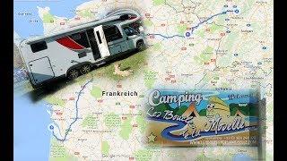 Wir sind wieder unterwegs 🚌: Camping les Boucles de la Moselle