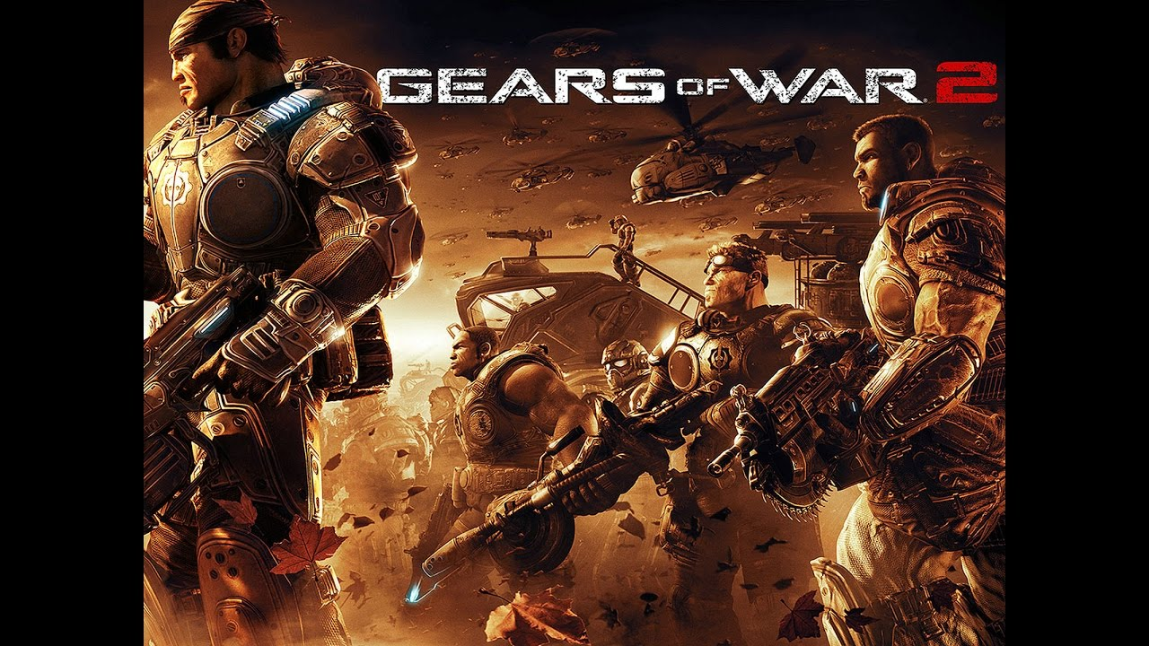 Gears Of War 2 All Cutscenes Movie Game Movie Full Story Youtube