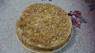 Медовик со сметанным кремом. Вкусный домашний торт
