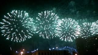 Международный фестиваль фейерверков в Москве 2018 г. День первый