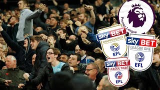 Best English Football Fans 16/17 Season