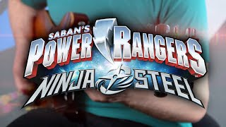 Power Rangers Ninja Steel Theme on Guitar