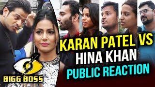 Karan Patel Vs Hina Khan In Bigg Boss 11 | Public Reaction | Bigg Boss 11 Weekend Ka Vaar