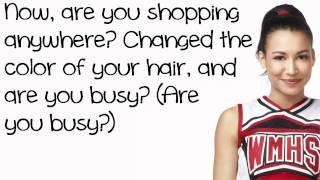 Glee Cast - Valerie (Lyrics)