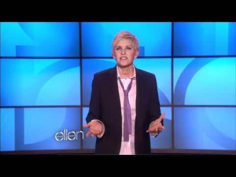 Ellen Supports Spirit Day