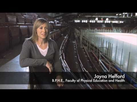 University of Toronto: Jayna Hefford, Olympic Gold Medalist, Alumni Portrait