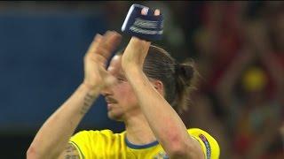 Se när Beckham hyllar Zlatan på Fotbollsgalan - TV4 Sport