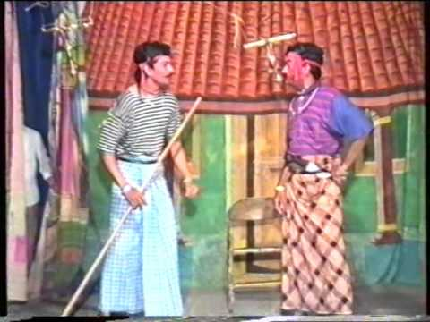 Direct recording Telugu stage drama Part  01  ( 4 )