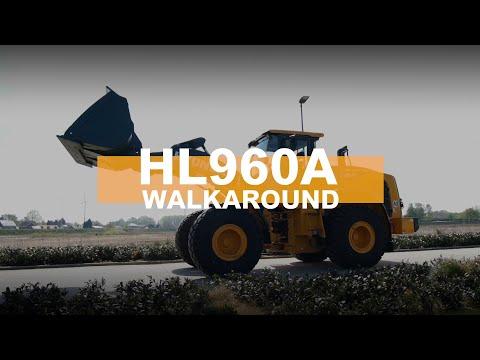 Video Kolový nakladač HL960A