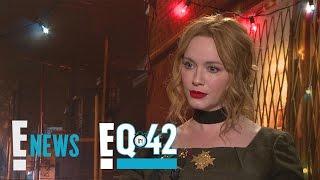 Christina Hendricks Takes the E!Q in 42 | E!Q in 42 | E! News