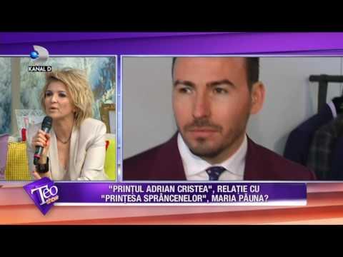Teo Show (22.02.2017) - Maria Pauna rupe tacerea despre relatia cu Adrian Cristea!
