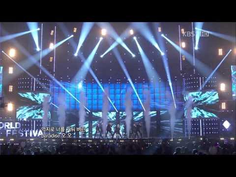 [HD 720p] 111221 INFINITE 인피니트 Paradise + 감상평 Live @ K-POP WORLD FESTIVAL 2011