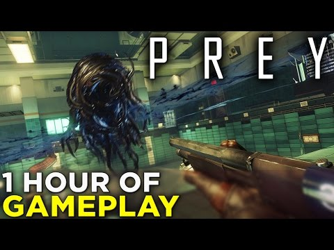 "PREY — NEW GAMEPLAY from ""Psychotronics"" Section (2017)"