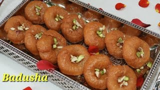 Badusha Sweet in Kannada | ಬಾದೂಸಾ ಸ್ವೀಟ್ | Easy Badhusha Recipe in Kannada | Rekha Aduge