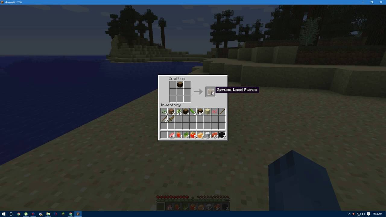 Minecraft How To Train Your Dragon Building A Crafting Table Episode ( 1)