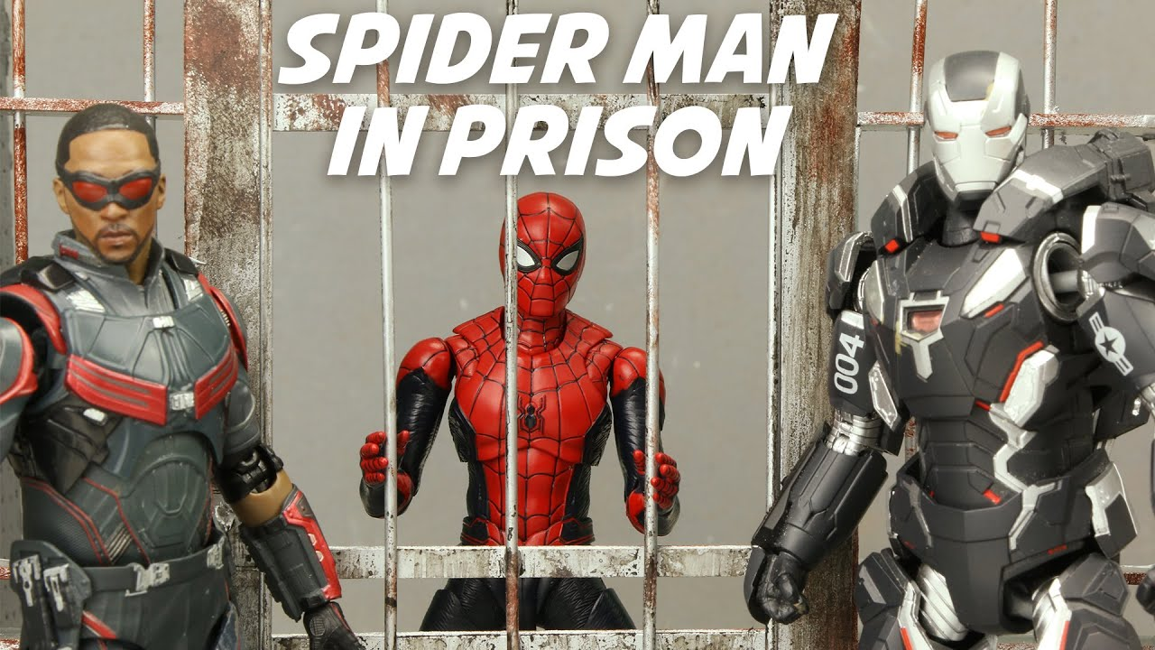 SPIDER MAN Escape from Prison | Official Trailer | Figure Stopmotion