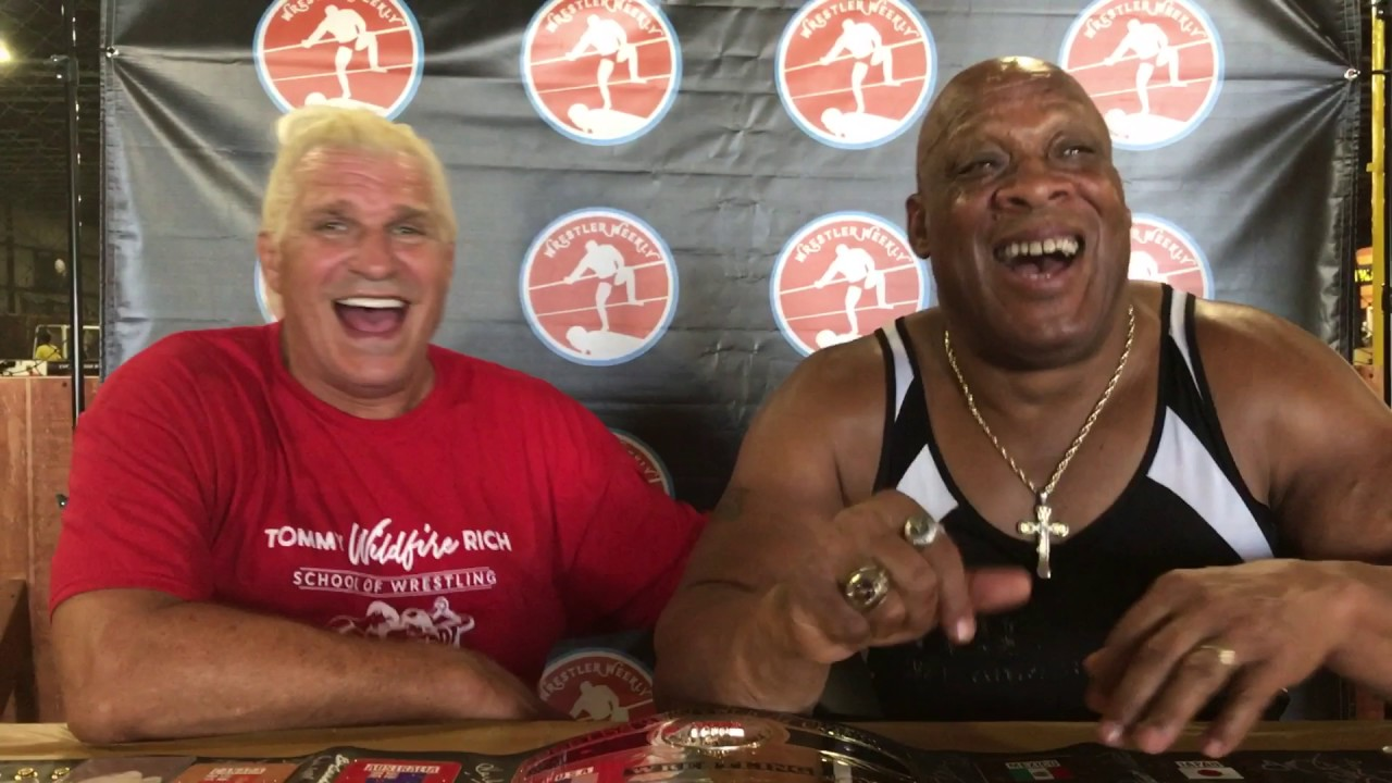 Shine Wrestler Weekly Presents Tommy Rich Tony Atlas Youtube