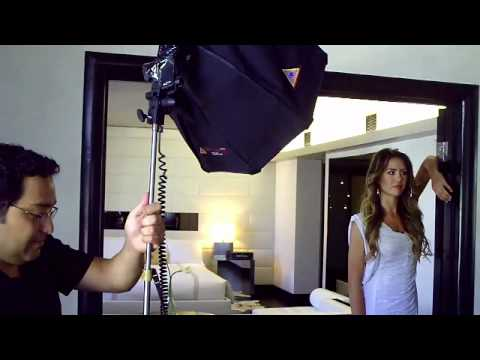Photo Session With Jesinta Campbell, Miss Australia Universe 2010