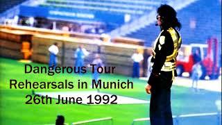 Michael Jackson | Dangerous Tour Rehearsals in Munich 26th June 1992 (Full Amateur Recording) [LQ]