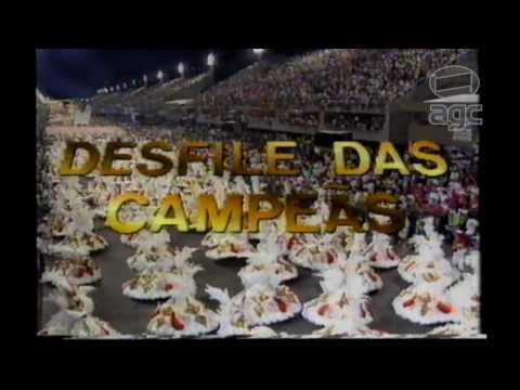 Chamada Desfile das Campeâs - 1994 - Rede Manchete