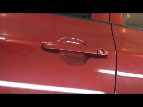 Как снять наружные ручки, передней и задней двери. Toyota Corolla X (E140, E150) Рестайлинг.
