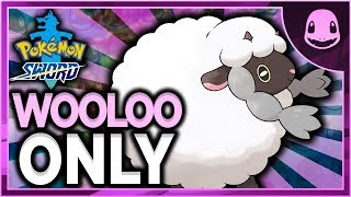 Can I Beat Pokemon Sword With Only Wooloo?? (NO ITEMS IN BATTLE)