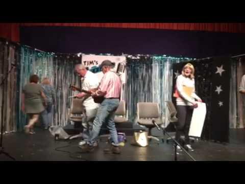 Barb and Bob finish rehearsing