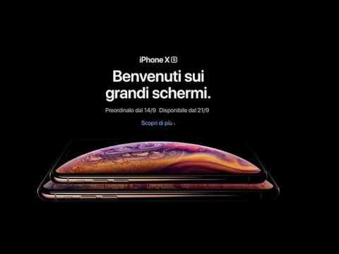 NUOVI iPHONE Xs & IPHONE Xs MAX TUTTE LE NOVITA, LE CARATTERISTICHE ED I PREZZI
