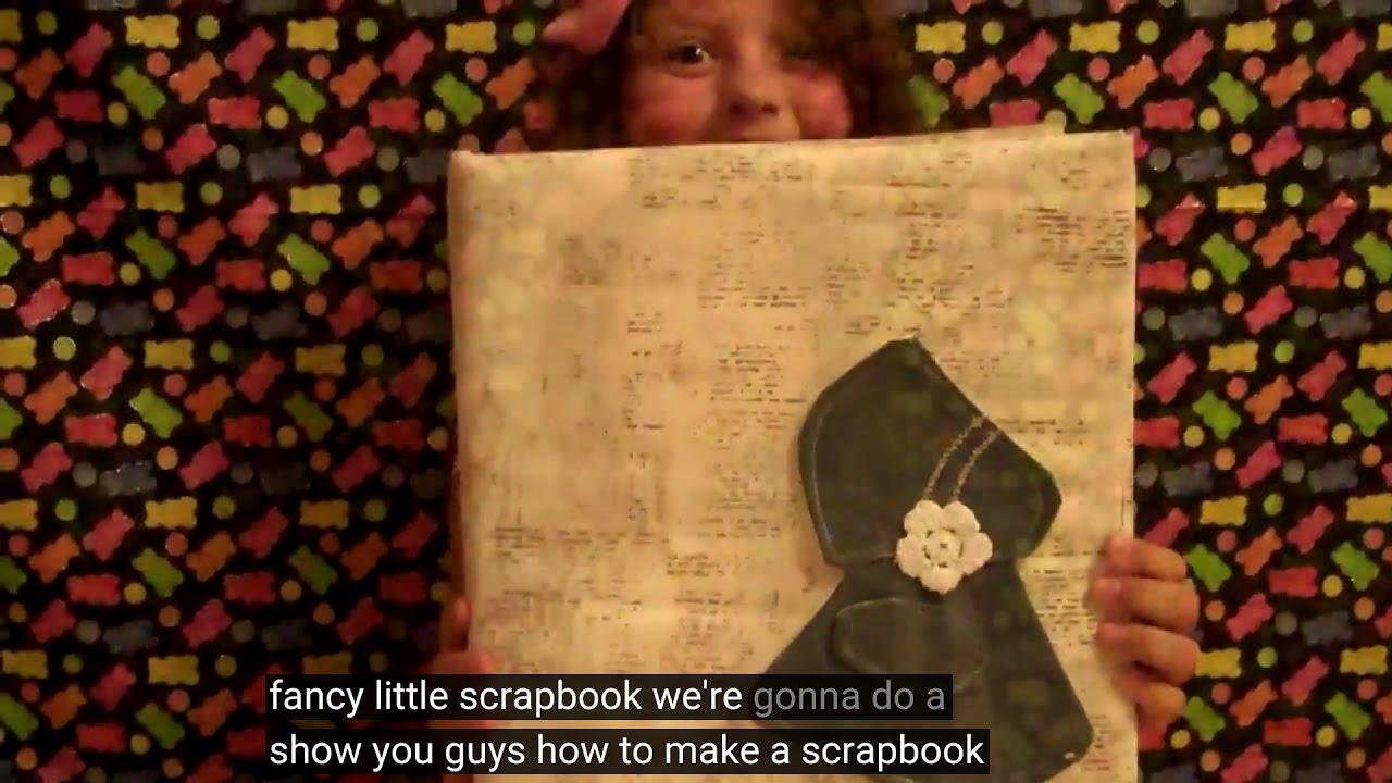 How to make scrapbook binder - How To Make A Scrapbook Book Binder