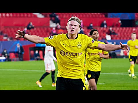 Erling Haaland UNSTOPPABLE Against Sevilla • 2 Goals And Assist | HD