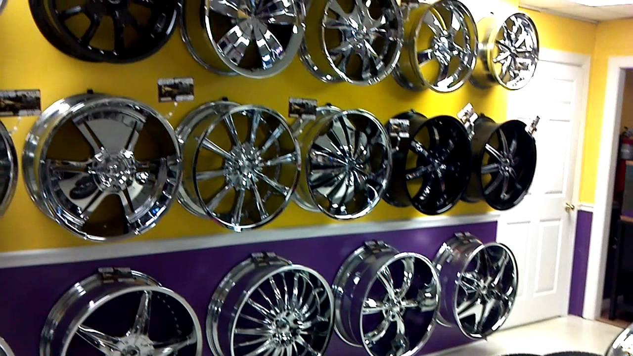 Tire Wholesale Warehouse >> Pilgreen wholesale wheels n tires new showroom - YouTube