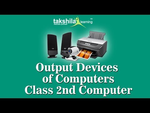Class 2 Computer |CBSE | ICSE | Output Device | NCERT Solution| Online School Classes