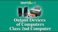 Class 2 Computer |CBSE | ICSE | Output Device | NCERT Solution| Online School Classes