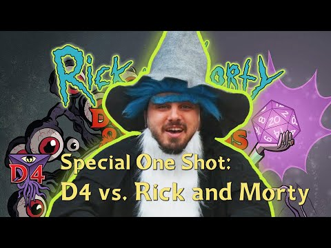 D4: Dungeons & Dragons Vs. Rick And Morty Playthrough