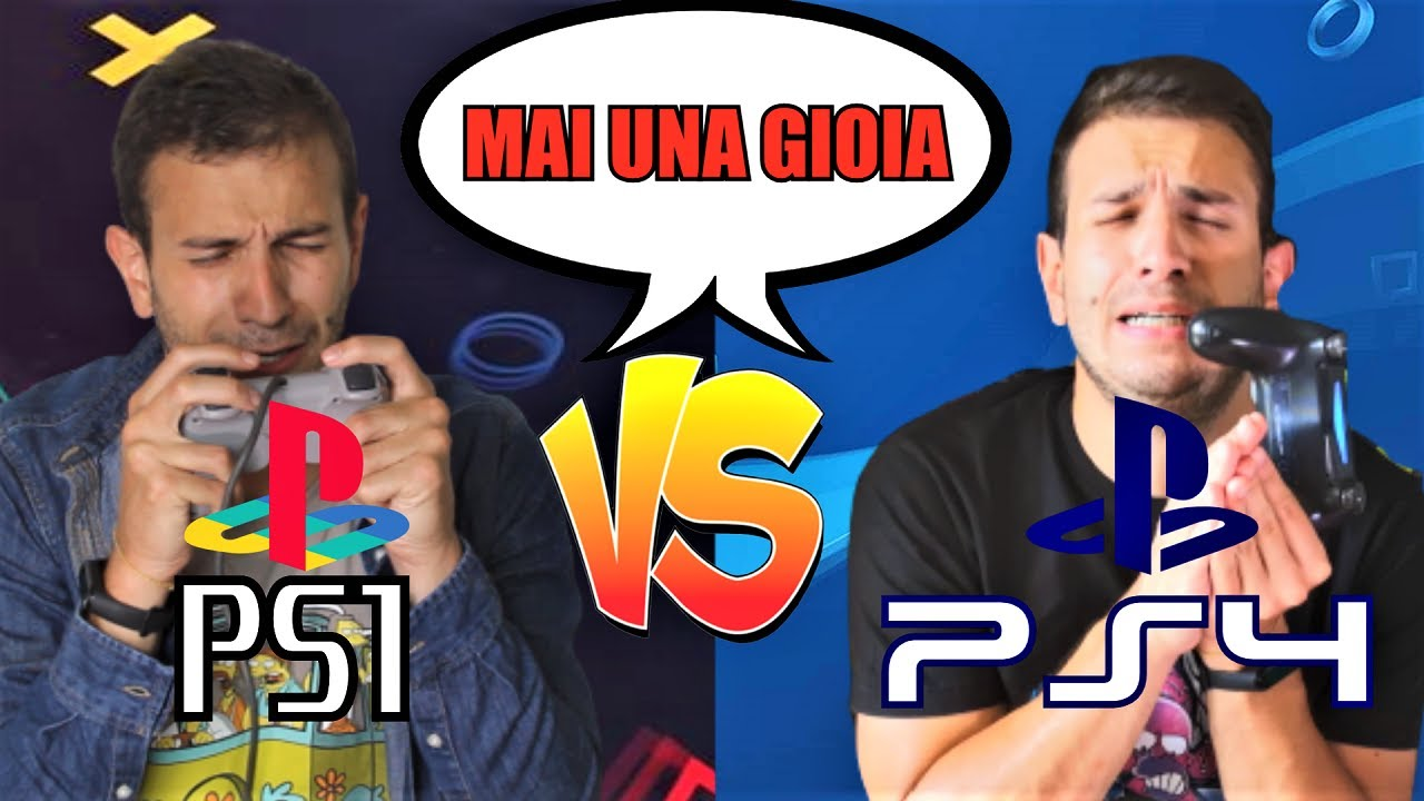 PS1 VS PS4 - VIDEOGIOCHI E MAI UNA GIOIA - Alessandro Vanoni