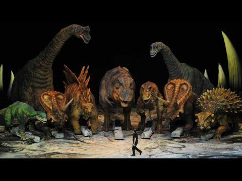 "Аниматронное шоу ""Прогулки с динозаврами"". 2019. BBC. Москва. ВТБ Арена."