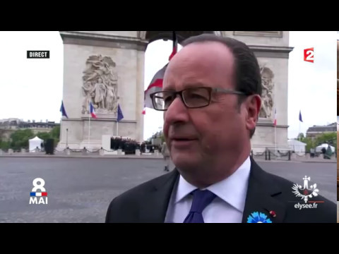Interview de François Hollande à l'occasion du 8 mai