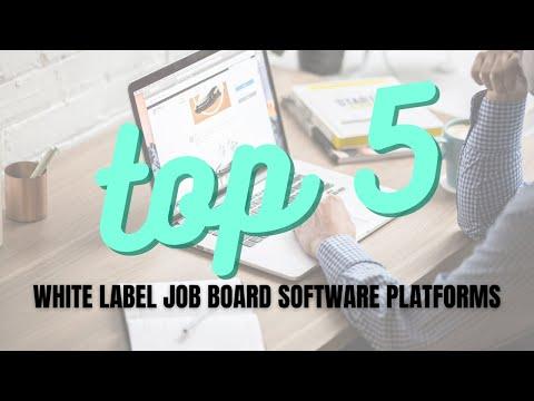 Top 5 White Label Job Board Software Platforms