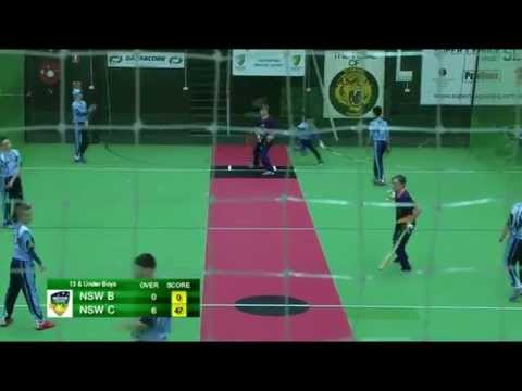 2015 Indoor Juniors - U13 Boys Semi Final (NSW Cyclones v NSW Blues)