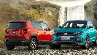 2019 Volkswagen T-Cross vs 2019 Jeep Renegade