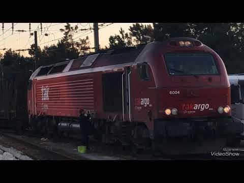 Comboios em Louriçal e Pombal (incluído último comboio Ramalhal)