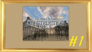 Обучающее видео TES III Construction Set Урок 1