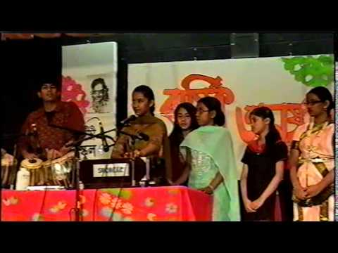 Udichi Newyork USA 2010(2)Song Performence of Students in Bijoy Dibash&Annual Program