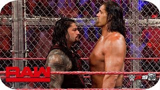 FULL MATCH - Roman Reigns vs. The Great Khali - Hell In The Cell Match : Raw, WWE 2k19 - Ep. 109