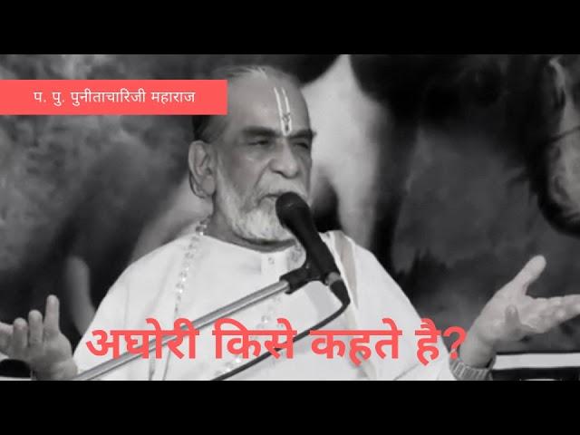 अघोरी किसे कहते हैं ?  | Punitachariji Maharaj | Girnar | Junagadh