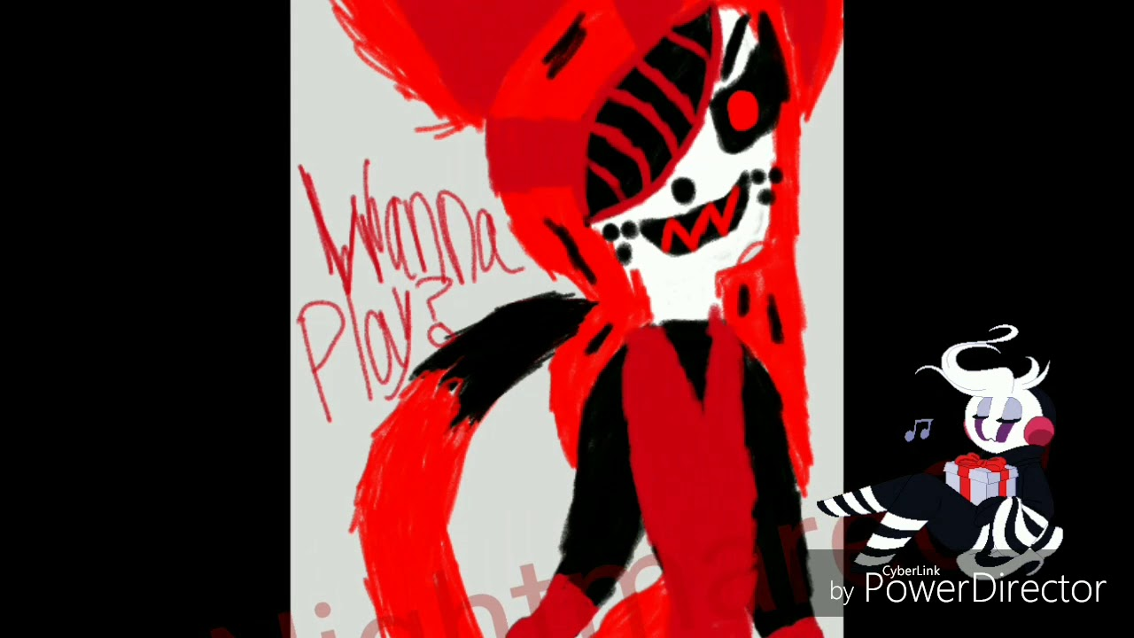 I do love you meme(Little lazari from Creepypasta and read disc)