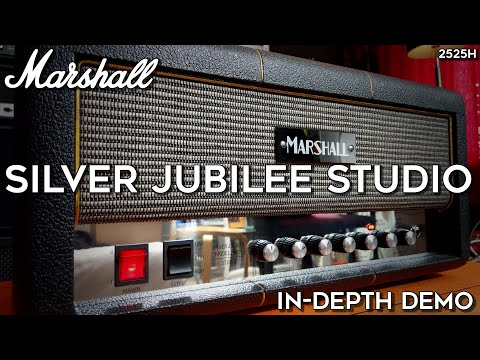 Marshall Silver Jubilee 2525H Studio In-Depth Demo! (15 Guitars)